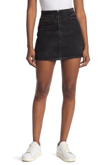 Image of Elodie Mini Denim Skirt