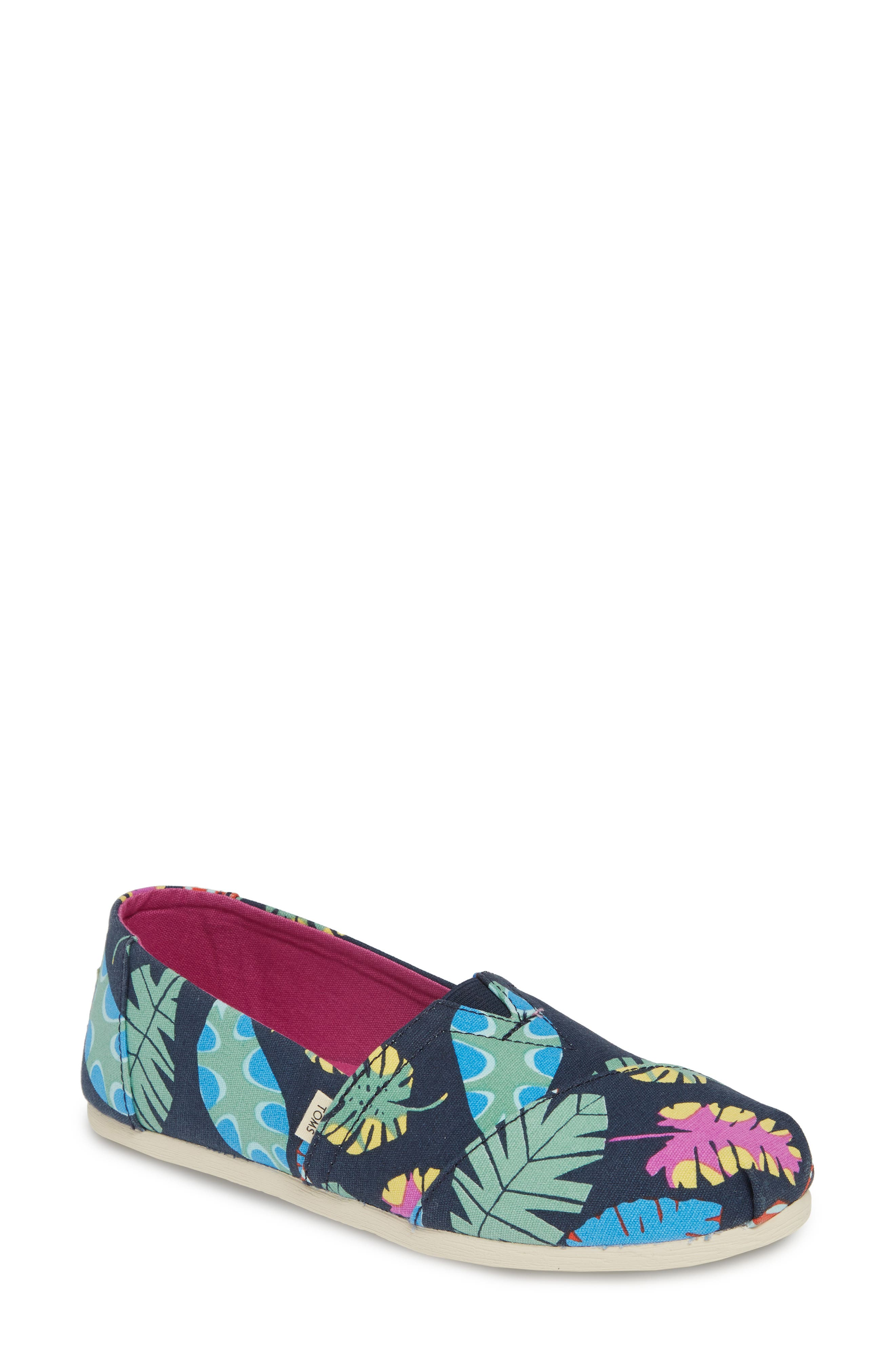 Toms Classic Canvas Slip-On, Blue