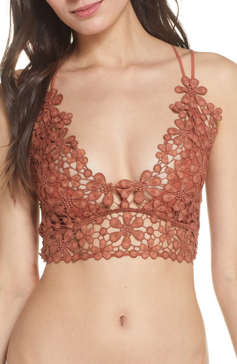 FREE PEOPLE Intimately FP Miss Dazie Bralette, Main, color, TERRACOTTA