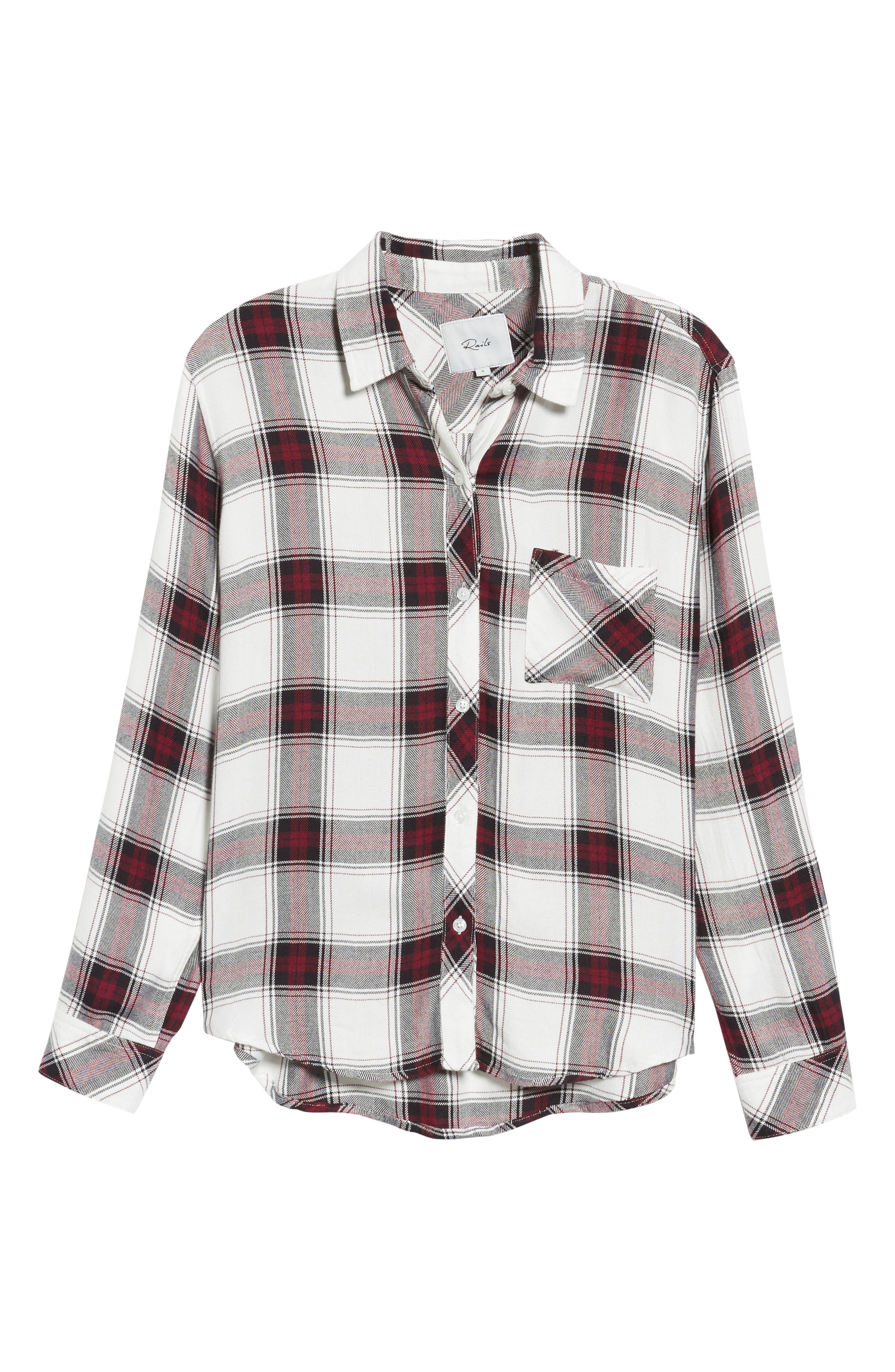 ,                             Hunter Plaid Shirt,                             Alternate thumbnail 411, color,                             502