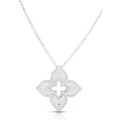Roberto Coin Venetian Princess Diamond Pendant Necklace