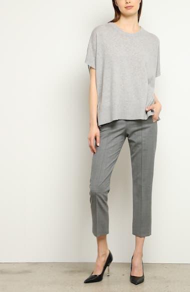 Pintuck Wool Blend Trousers, video thumbnail
