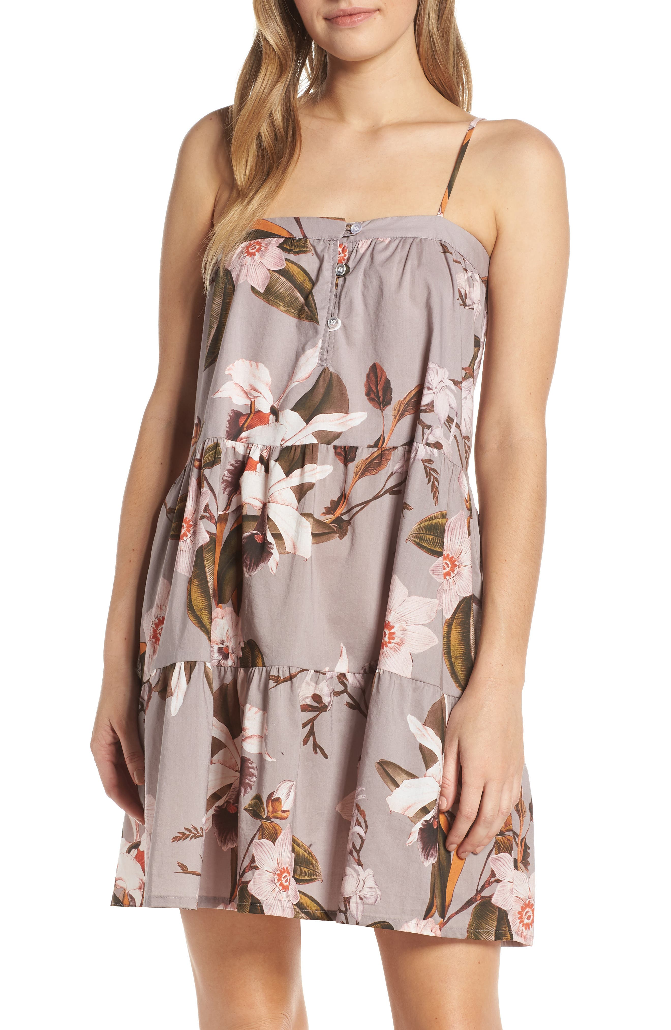 Maison Du Soir Annie Nightgown, Purple