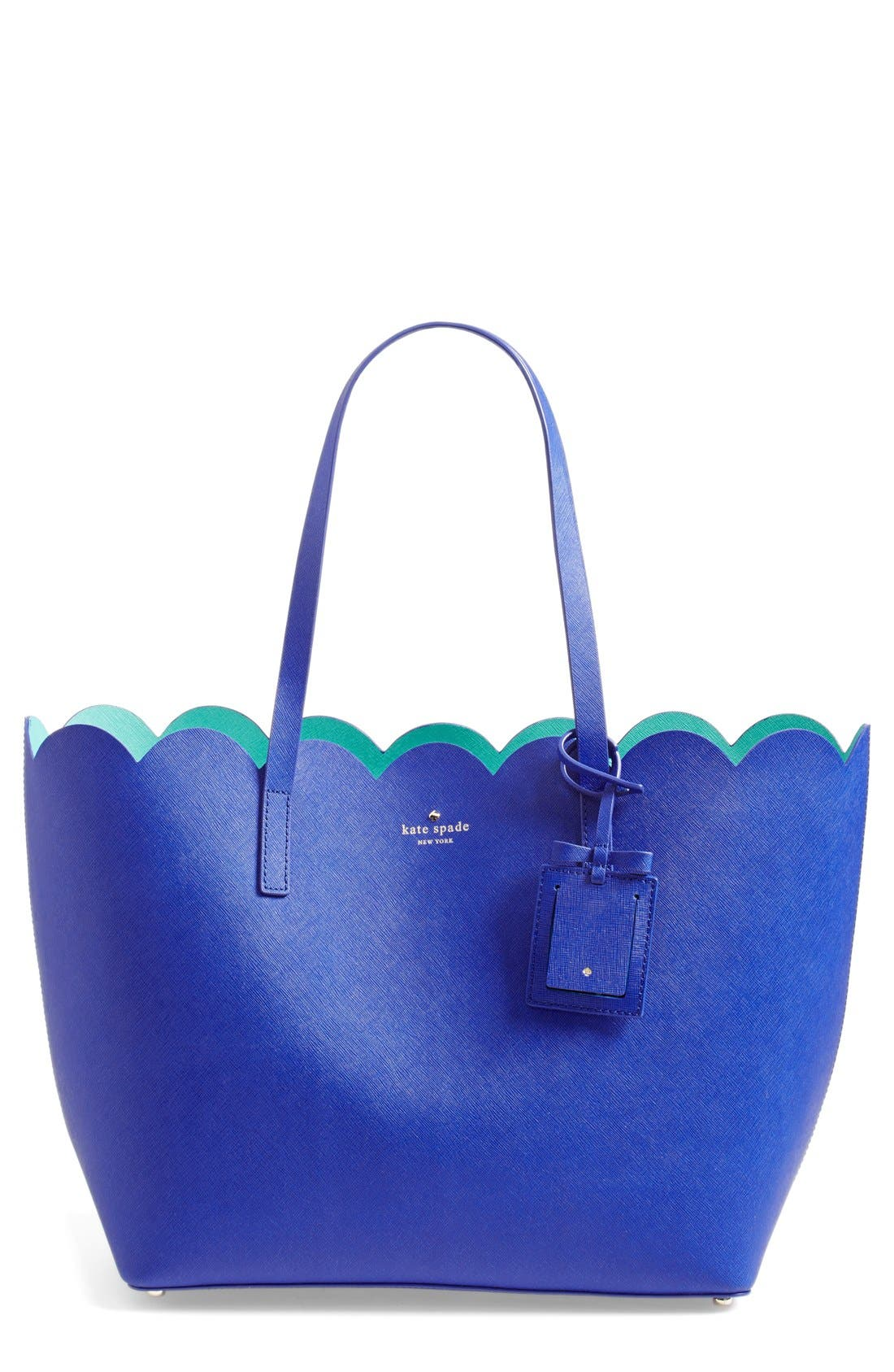 ,                             'lily avenue - carrigan' leather tote,                             Main thumbnail 14, color,                             459