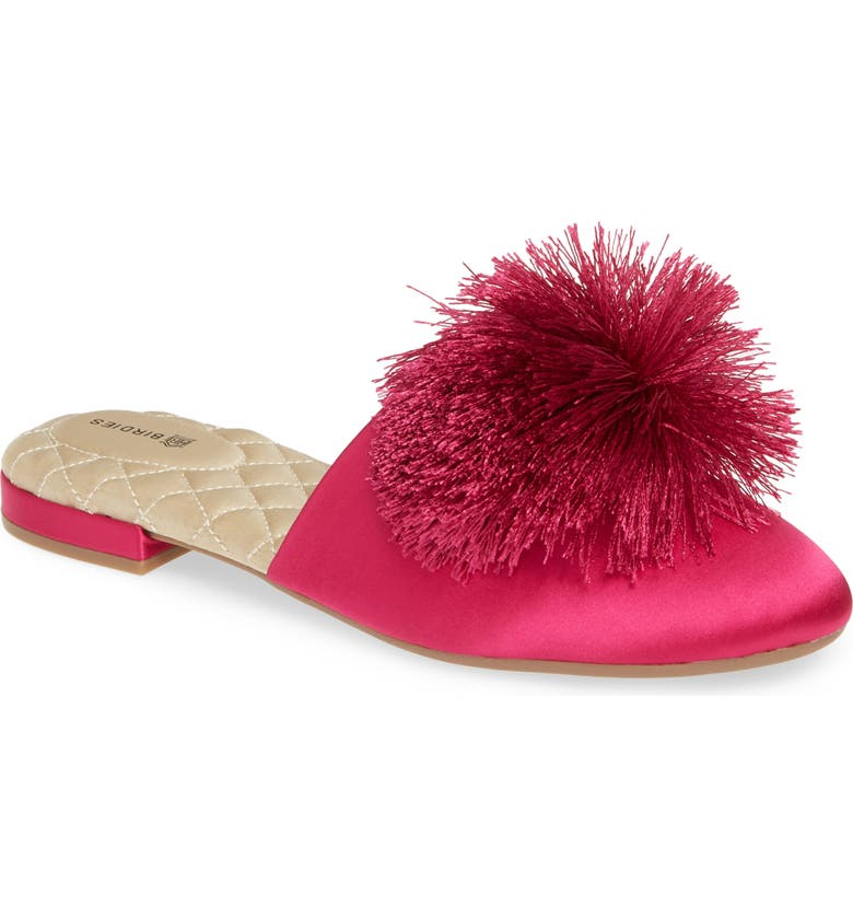 BIRDIES The Songbird Mule, Main, color, FUCHSIA SATIN