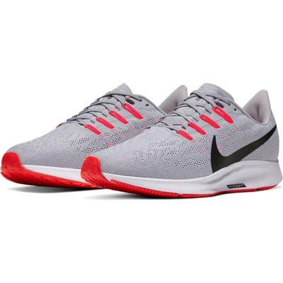 Nike Air Zoom Pegasus 36 Running Shoe- Grey