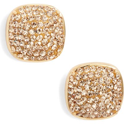 Kate Spade New York Pave Small Square Stud Earrings