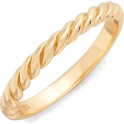Argento Vivo Rope Ring