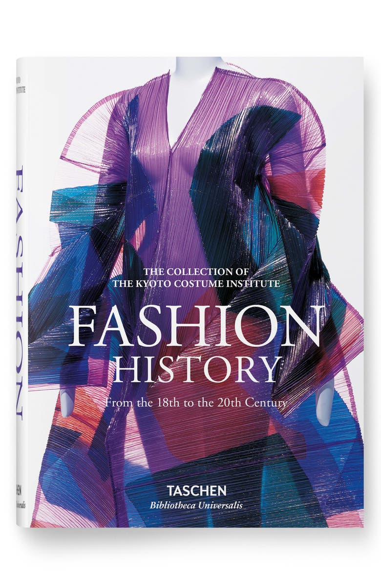 TASCHEN BOOKS 'Fashion History: From the 18th to the 20th Century' Book, Main, color, PURPLE