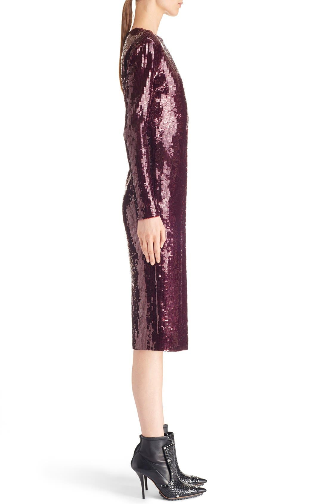 ,                             Sequin Sheath Dress,                             Alternate thumbnail 4, color,                             930