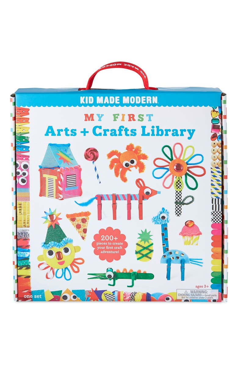 KID MADE MODERN My First Arts & Crafts Library, Main, color, MULTI