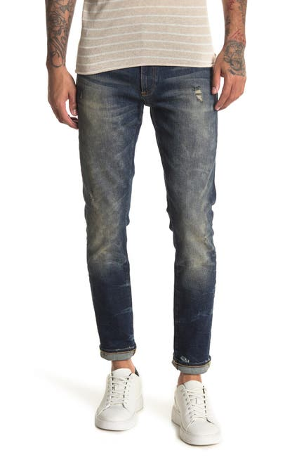 Image of OVADIA AND SONS Faded Skinny Jeans