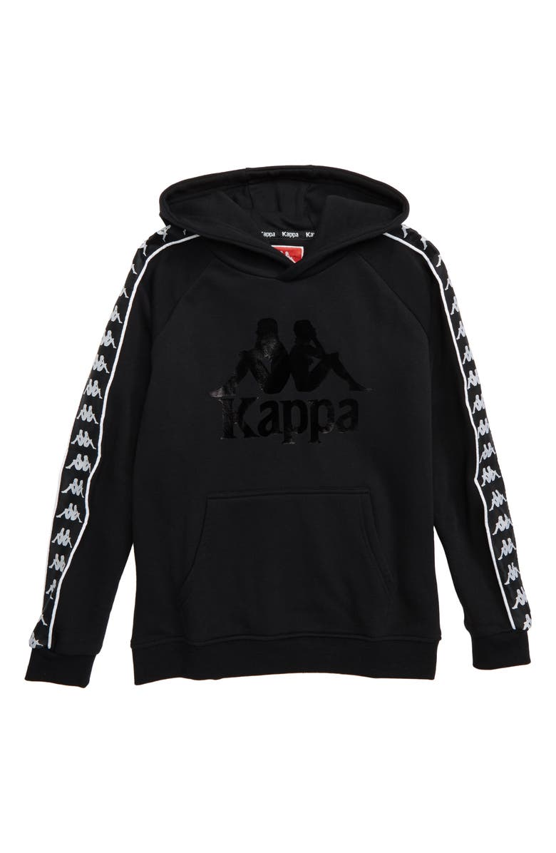 KAPPA Authentic Hurtado Zip Hoodie, Main, color, 001