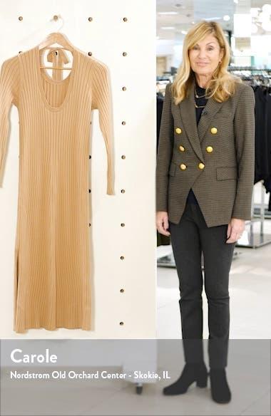 x BFF Hollie Long Sleeve Sweater Dress, sales video thumbnail