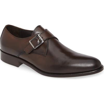 To Boot New York San Marcos Monk Strap Shoe, Brown