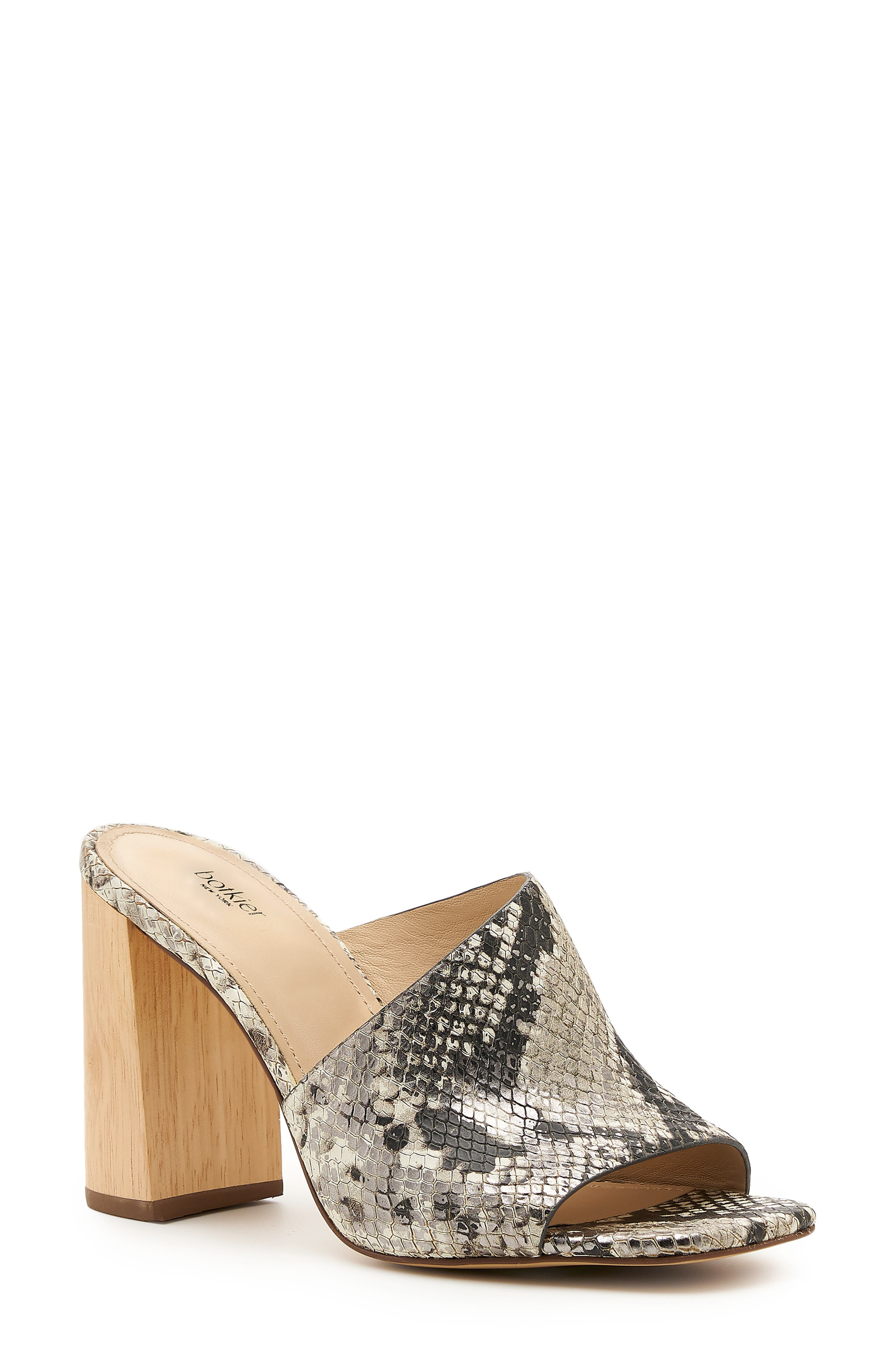 Ross Block Heel Slide Sandal