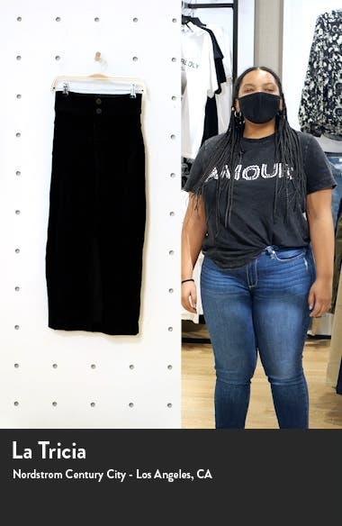 Ribbed Midi Pencil Skirt, sales video thumbnail