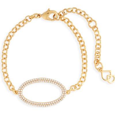Dean Davidson Pave Oval Chain Bracelet