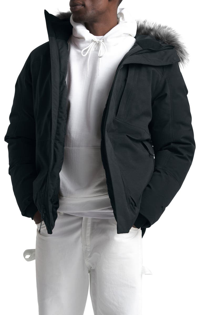 THE NORTH FACE Defdown II Gore-Tex<sup>®</sup> 550 Fill Power Down Parka, Main, color, TNF BLACK