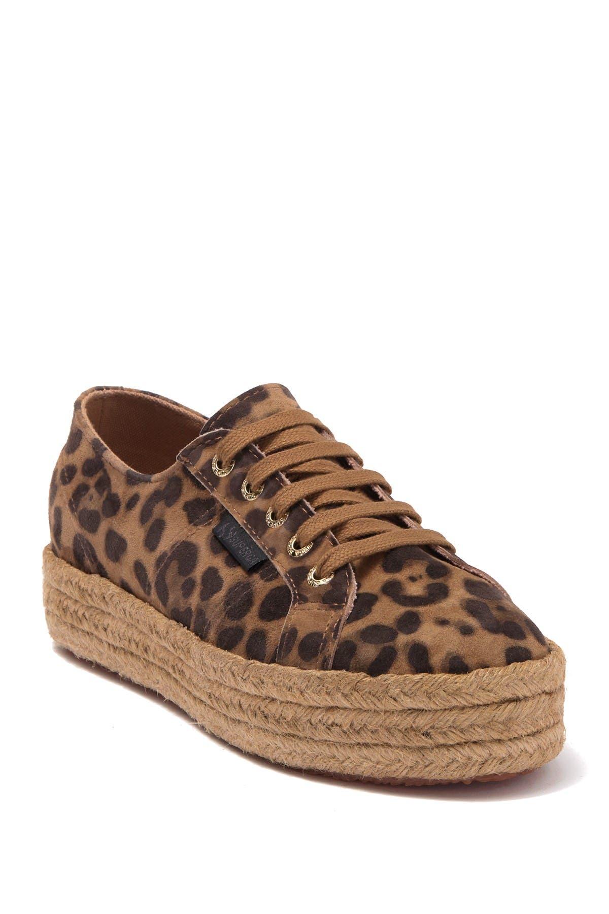 Fankidsieropew Leopard Espadrille