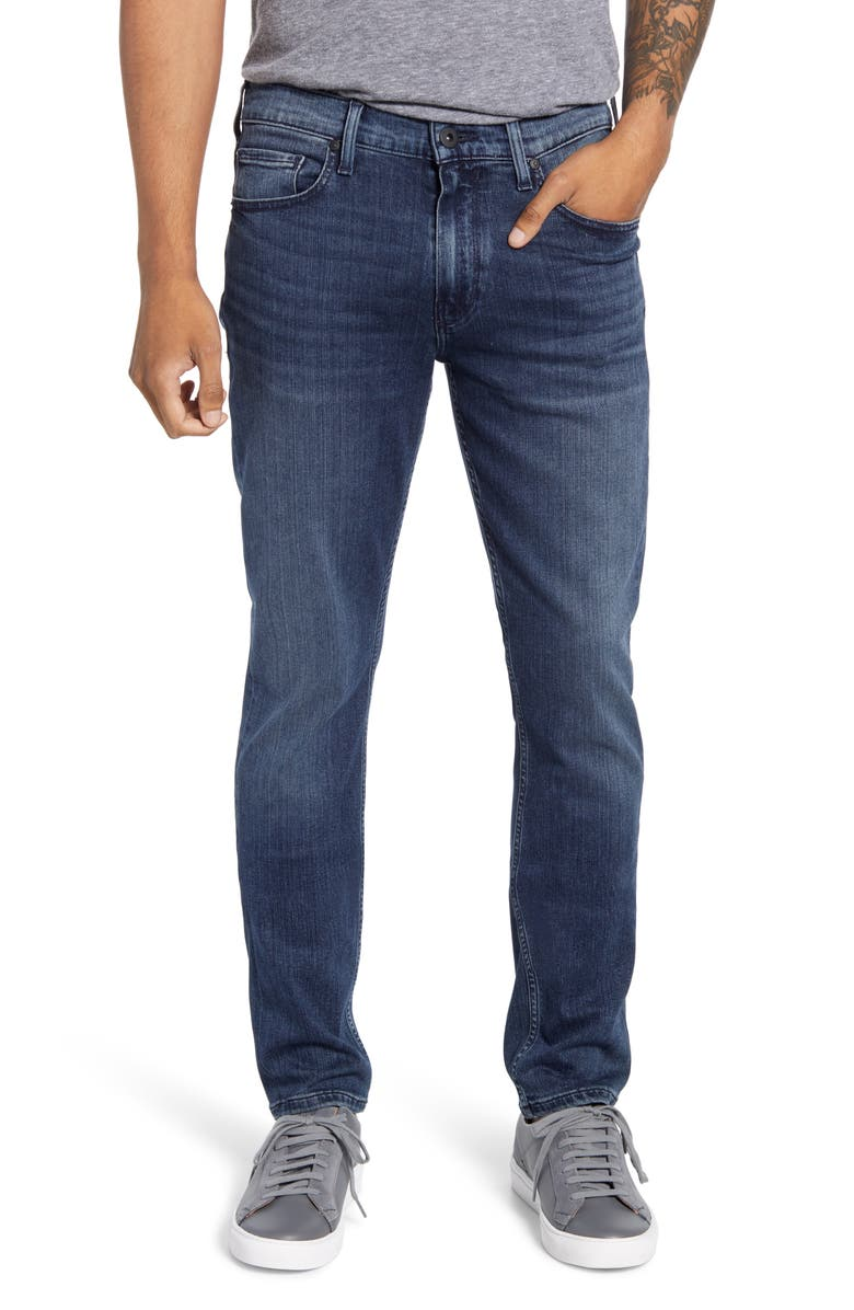 PAIGE Transcend Lennox Slim Jeans, Main, color, RICHARDS