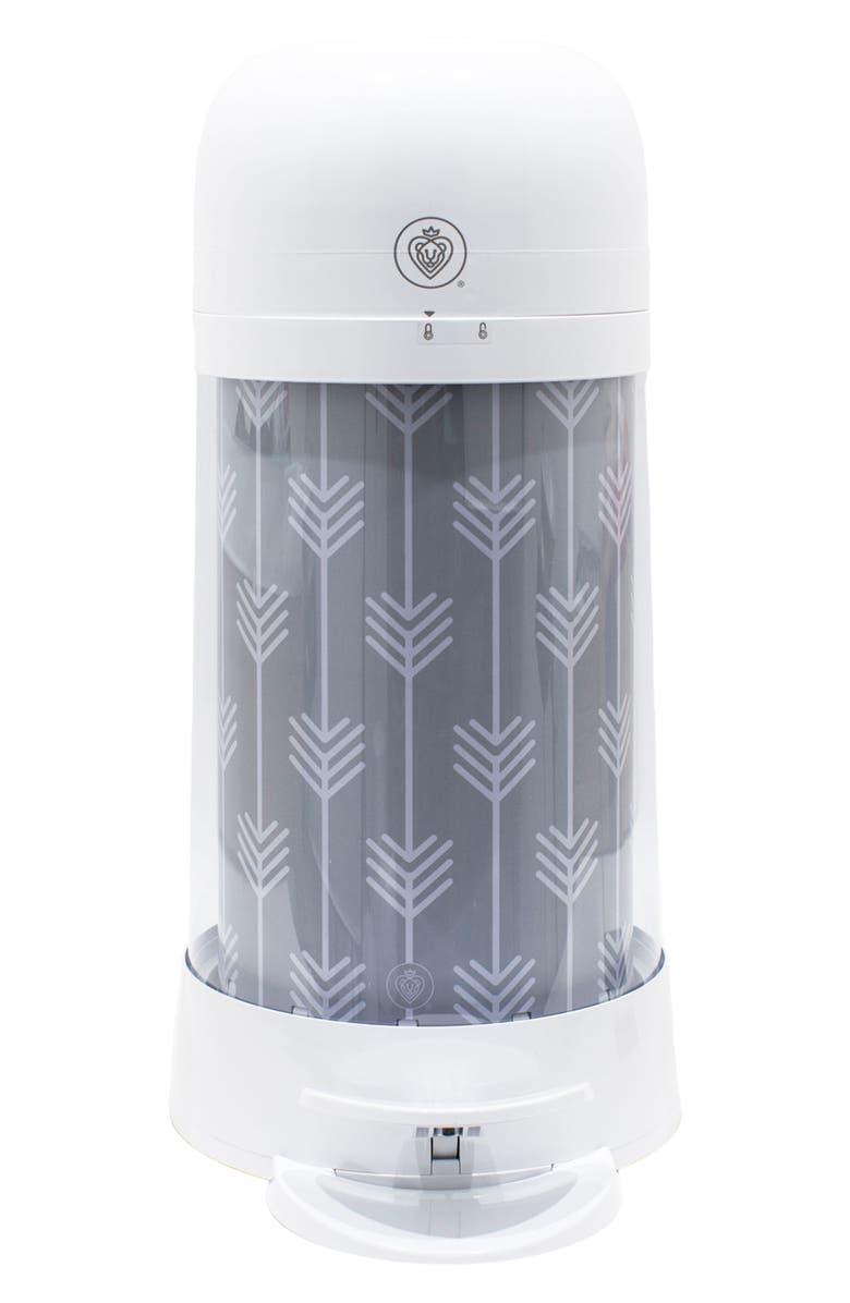 PRINCE LIONHEART Twist'r Diaper Disposal System, Main, color, GREY ARROW