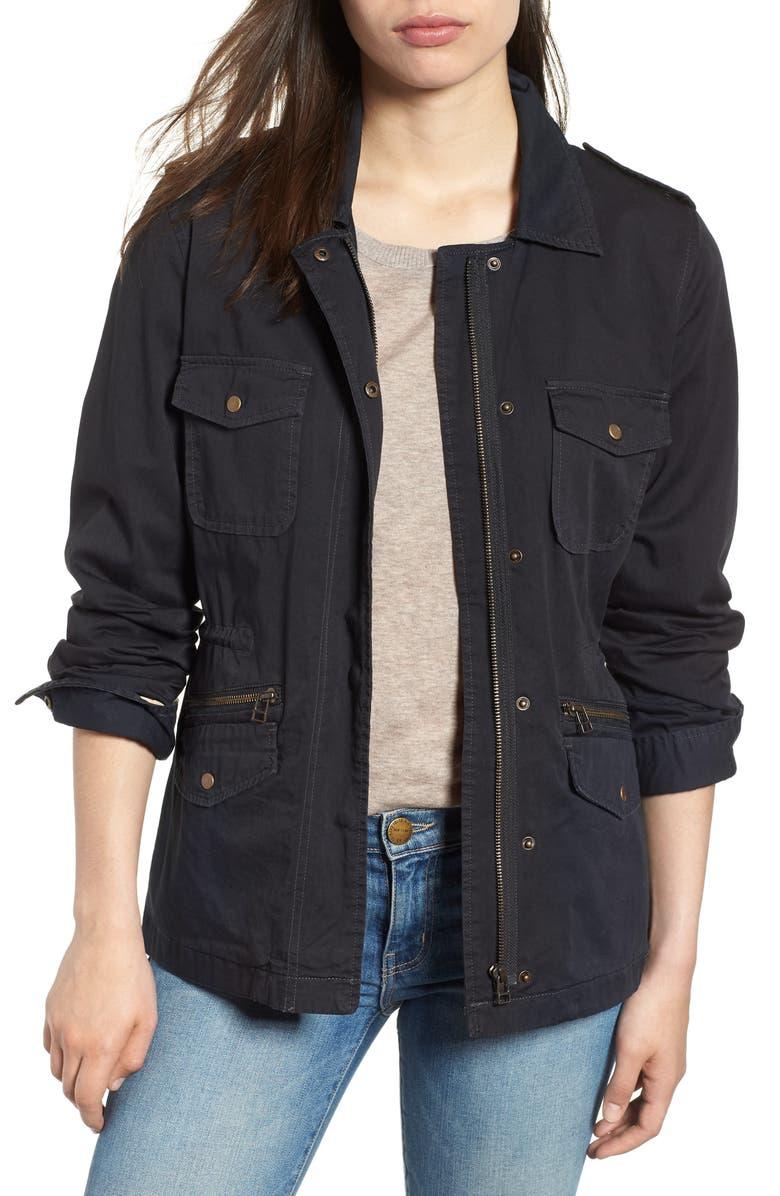 0b884bc1b94b30 Lily Aldridge for Velvet by Graham & Spencer Army Jacket, Main, color, ...