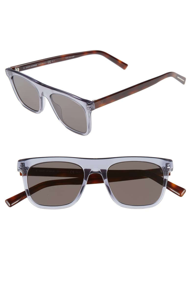 DIOR Walk 51mm Sunglasses, Main, color, 001