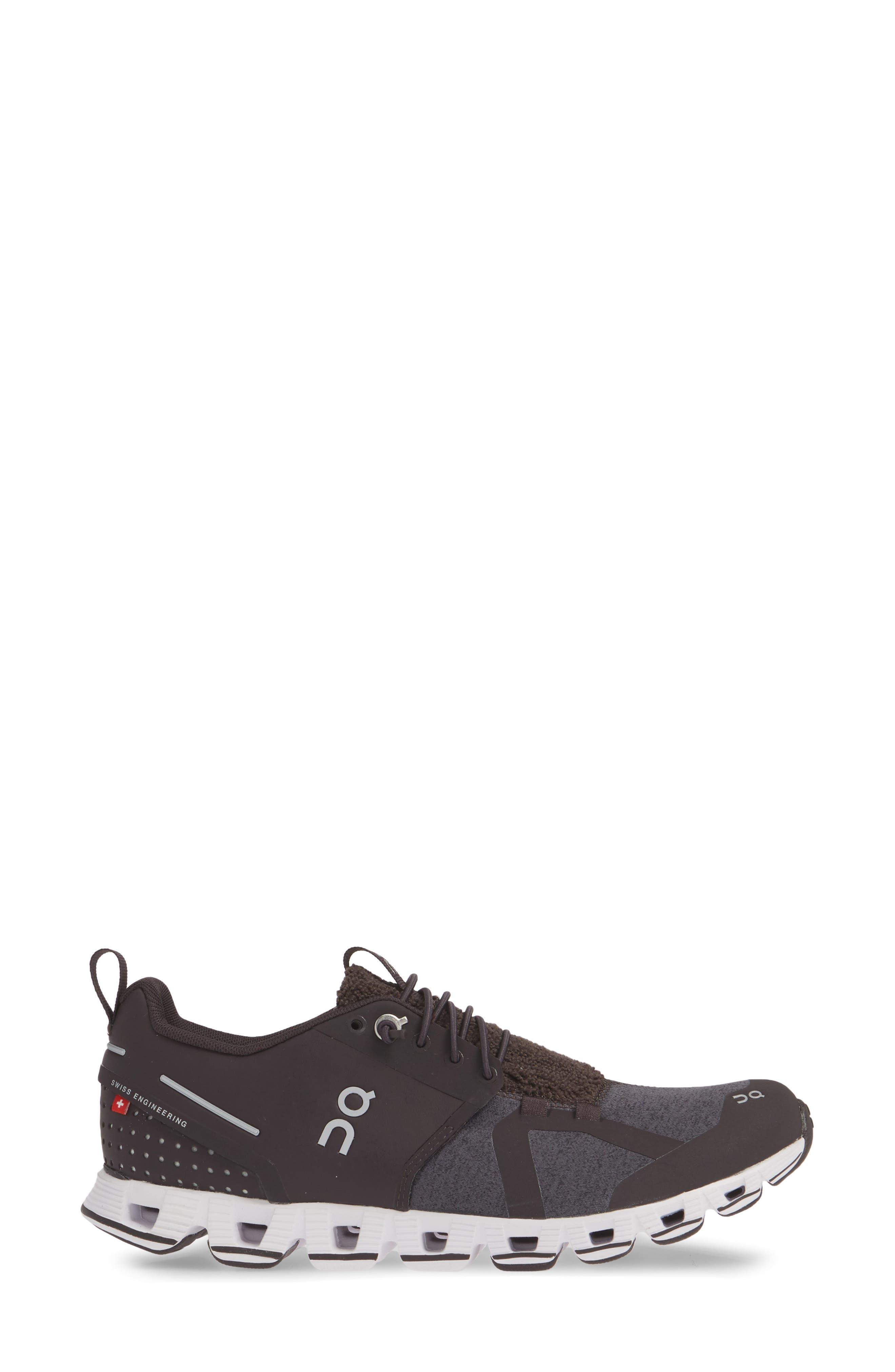 ,                             Cloudterry Sneaker,                             Alternate thumbnail 3, color,                             PEBBLE