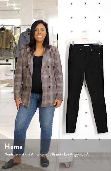 Paneled Velvet Jeans, sales video thumbnail