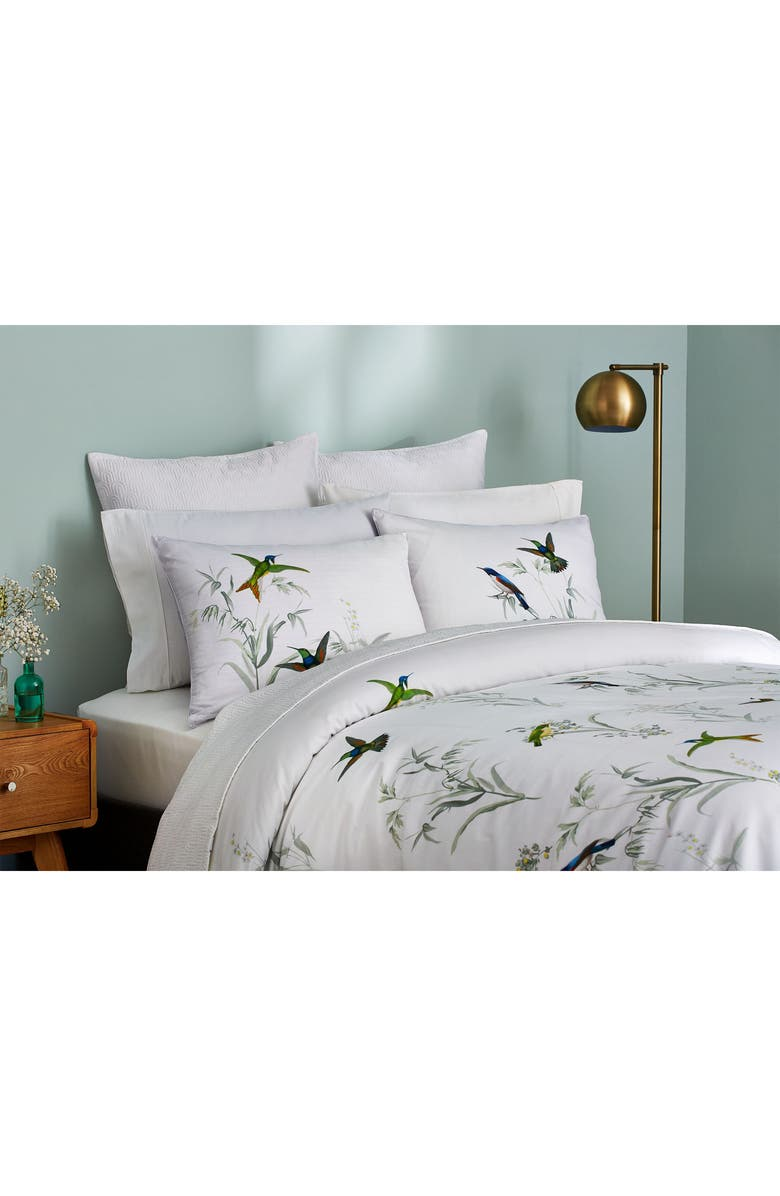 TED BAKER LONDON Fortune Comforter & Sham Set, Main, color, GREY