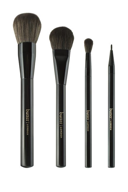 Image of butter LONDON Posh 4-Piece Makeup Brush Set