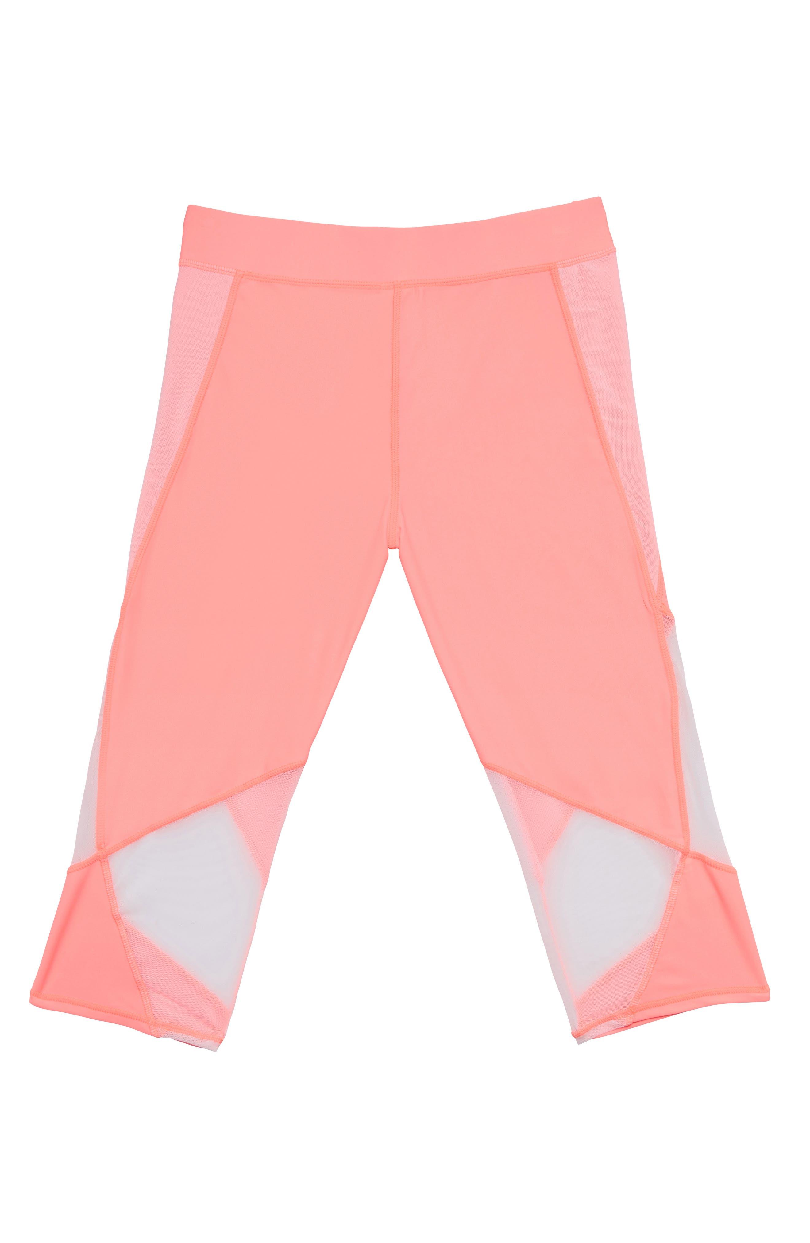 ,                             Summer Mesh Trim Cover-Up Pants,                             Alternate thumbnail 2, color,                             ELECTRIC FLAMINGLE