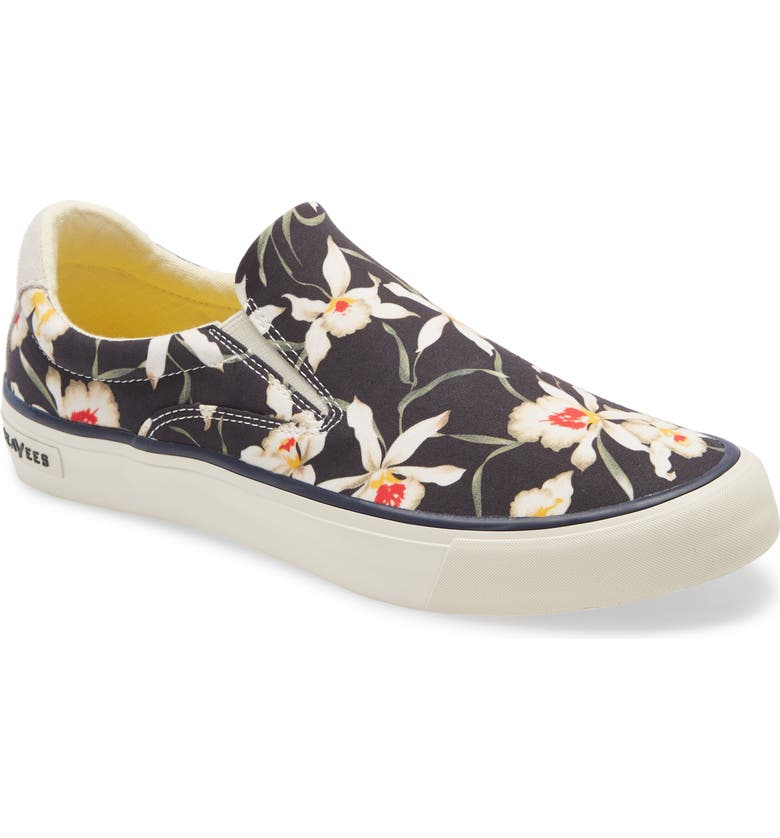 SEAVEES Hawthorne Magnum Slip-On Sneaker, Main, color, BLACK ORCHID