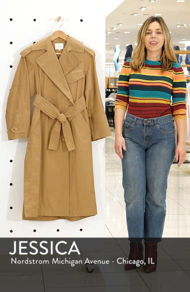 Long Trench Coat, sales video thumbnail