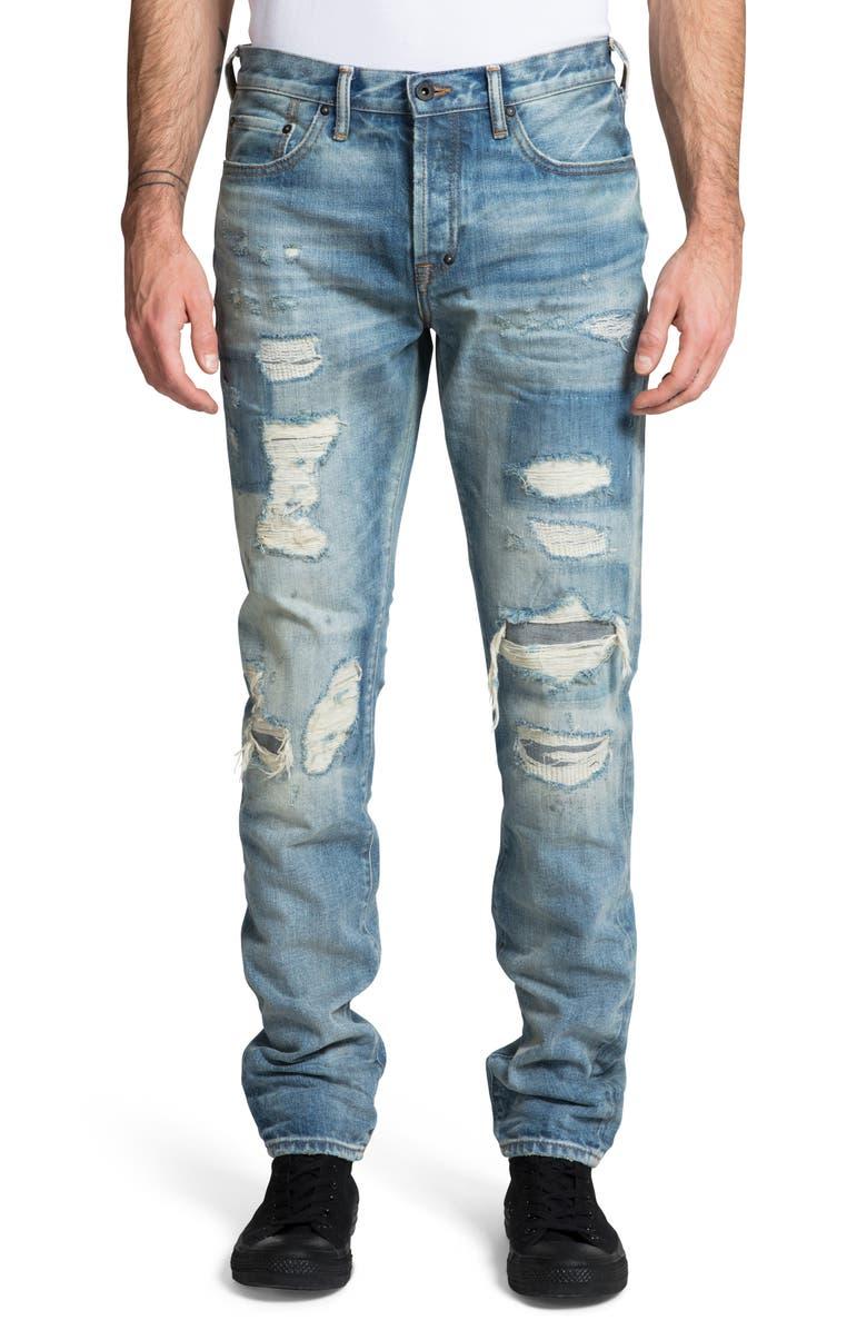 PRPS Le Sabre Slim Fit Jeans, Main, color, HALS