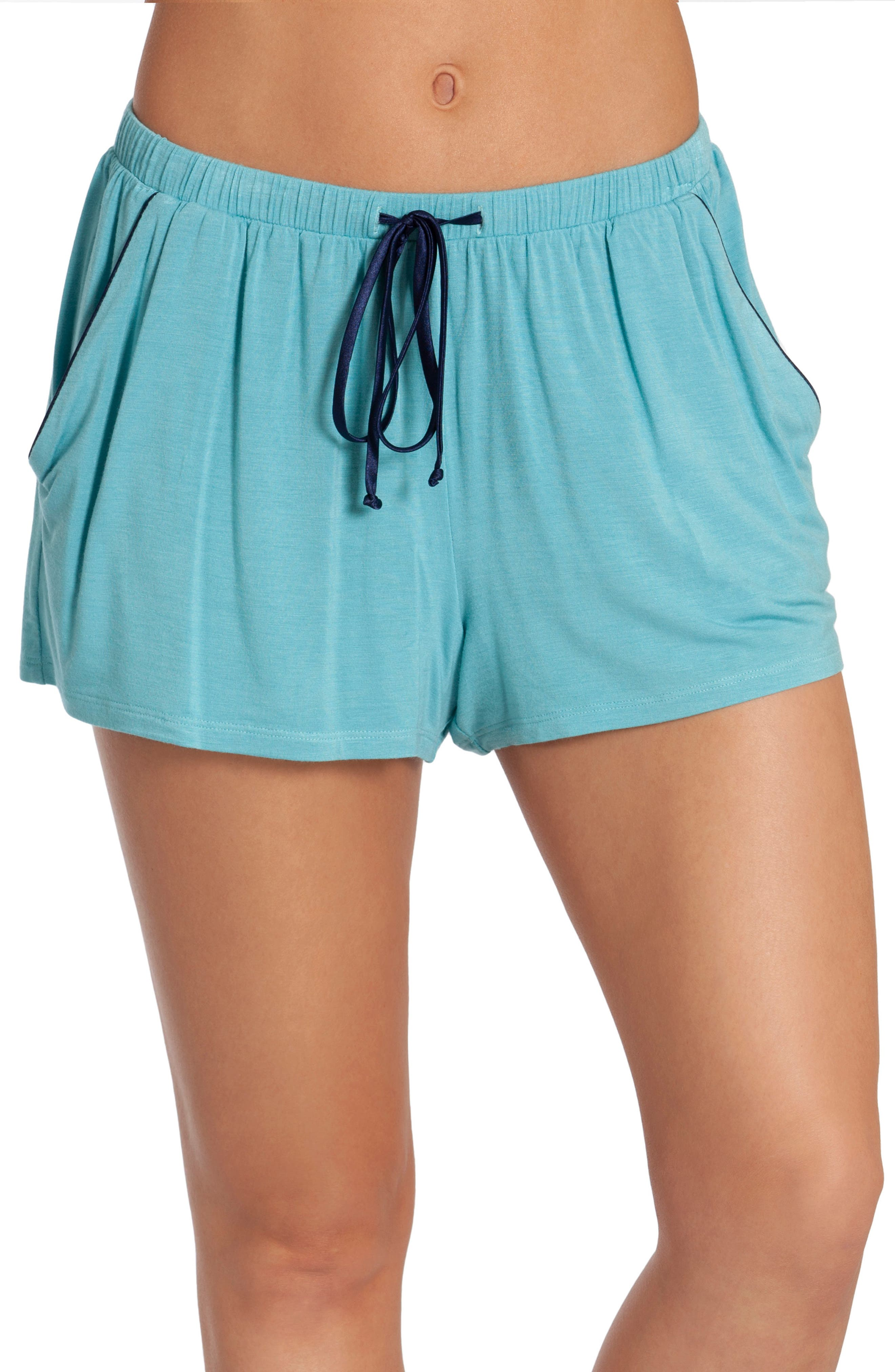In Bloom By Jonquil Kauai Pajama Shorts, Blue