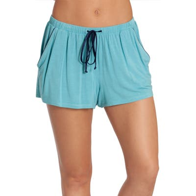 In Bloom By Jonquil Kauai Pajama Shorts, Blue