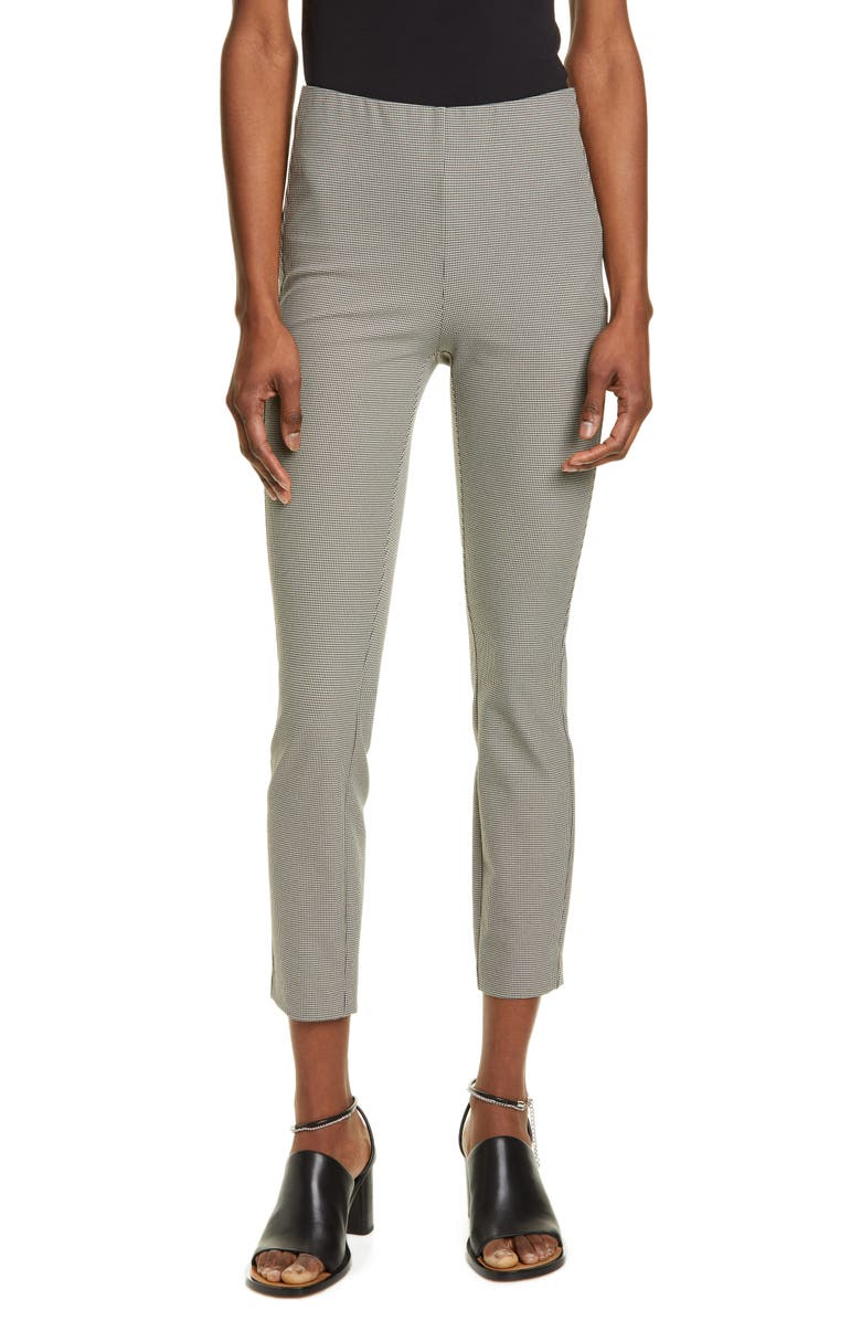 Rag Bone Simone Houndstooth Slim Ankle Pants