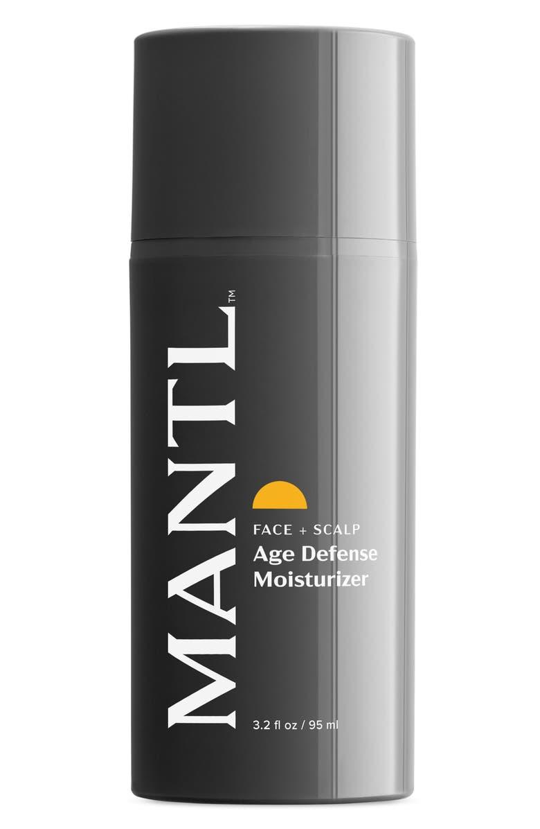 MANTL Face + Scalp Age Defense Moisturizer, Main, color, No Color