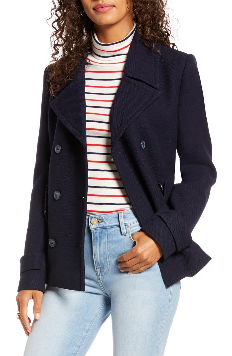 1901 Double Breasted Peacoat, Main, color, 401