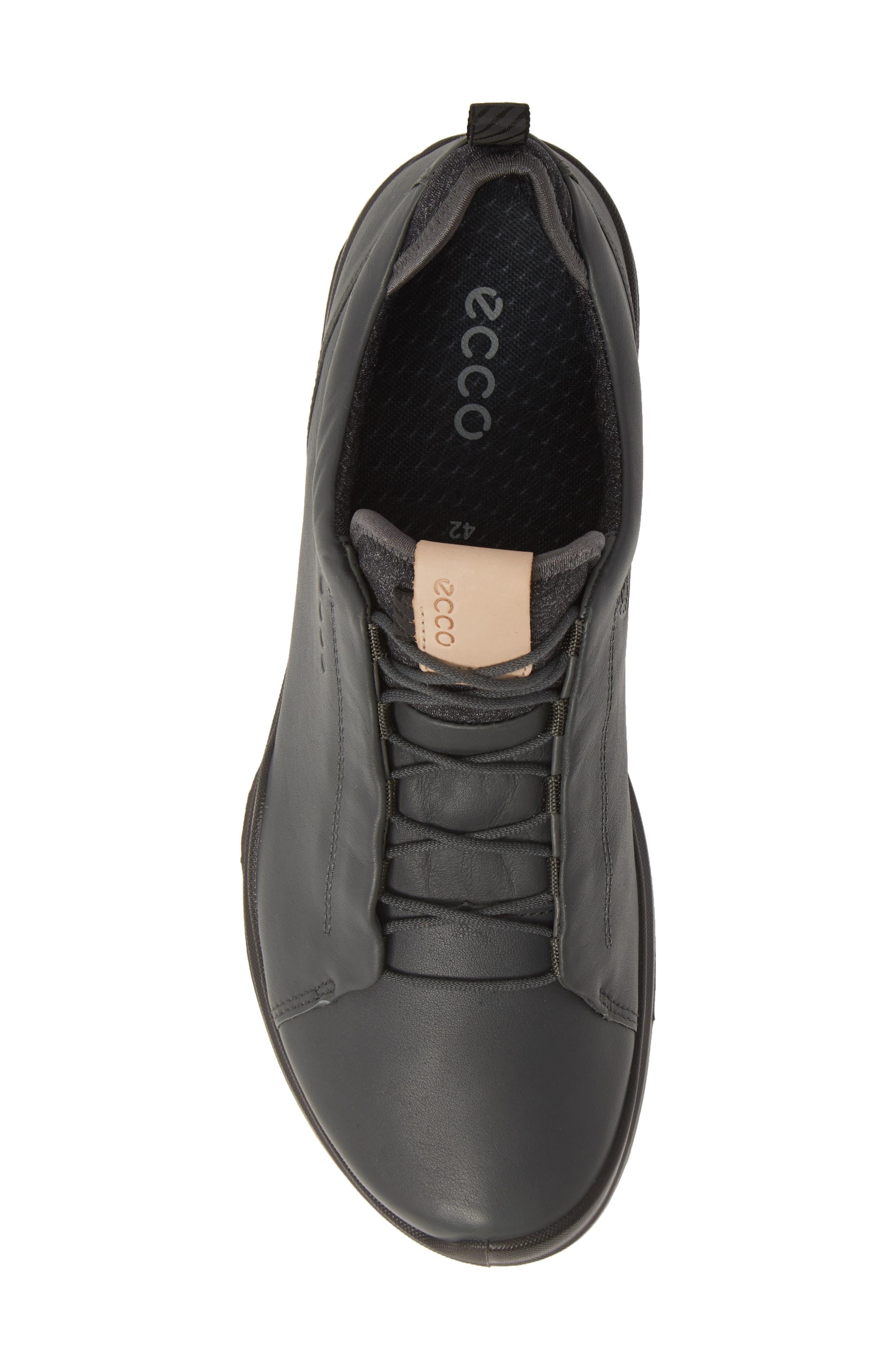 ,                             BIOM<sup>®</sup> Hybrid 3 OL Gore-Tex<sup>®</sup> Golf Shoe,                             Alternate thumbnail 5, color,                             DARK SHADOW LEATHER