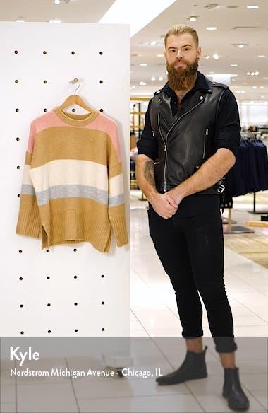 Supersoft Stripe Crewneck Sweater, sales video thumbnail