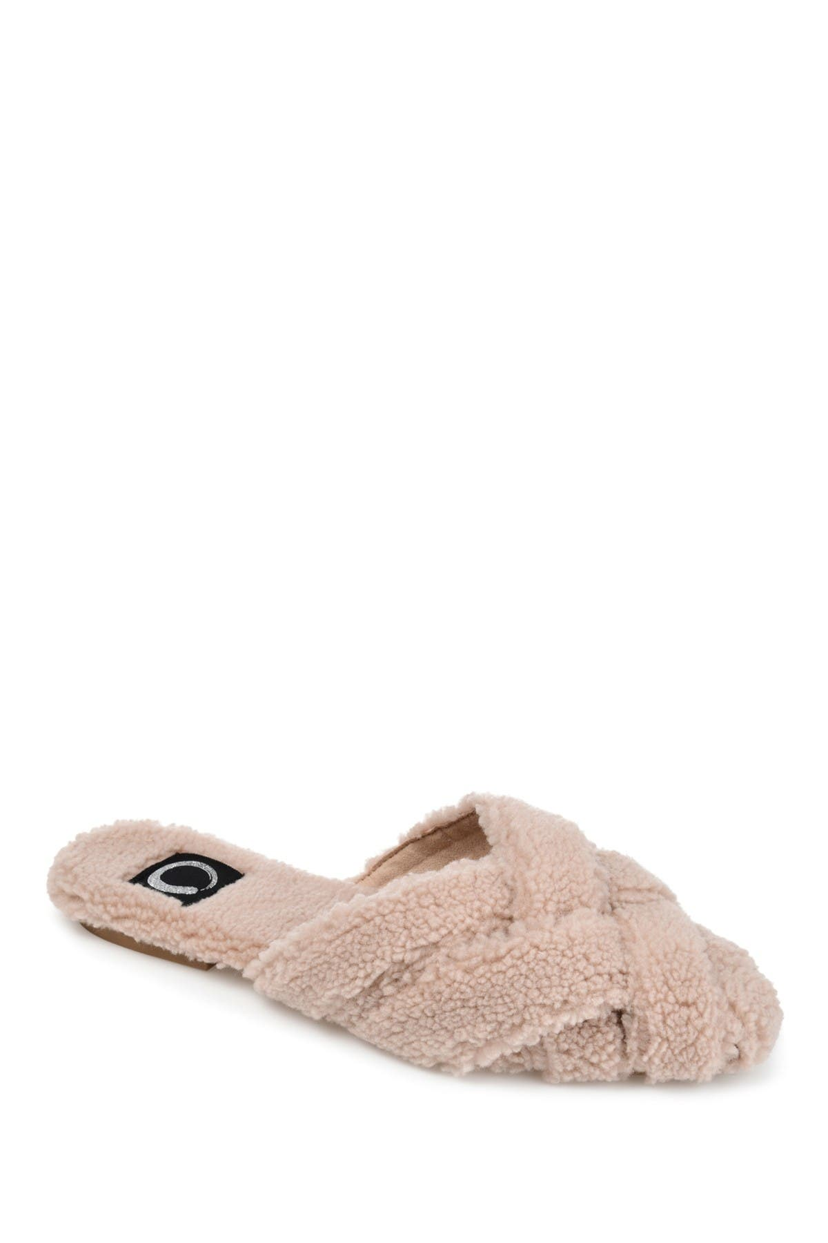 Image of JOURNEE Collection Sereena Faux Fur Slipper