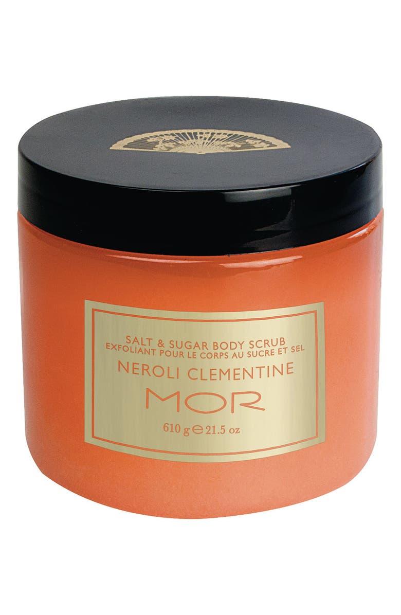 MOR 'Neroli Clementine' Salt & Sugar Body Scrub, Main, color, 000
