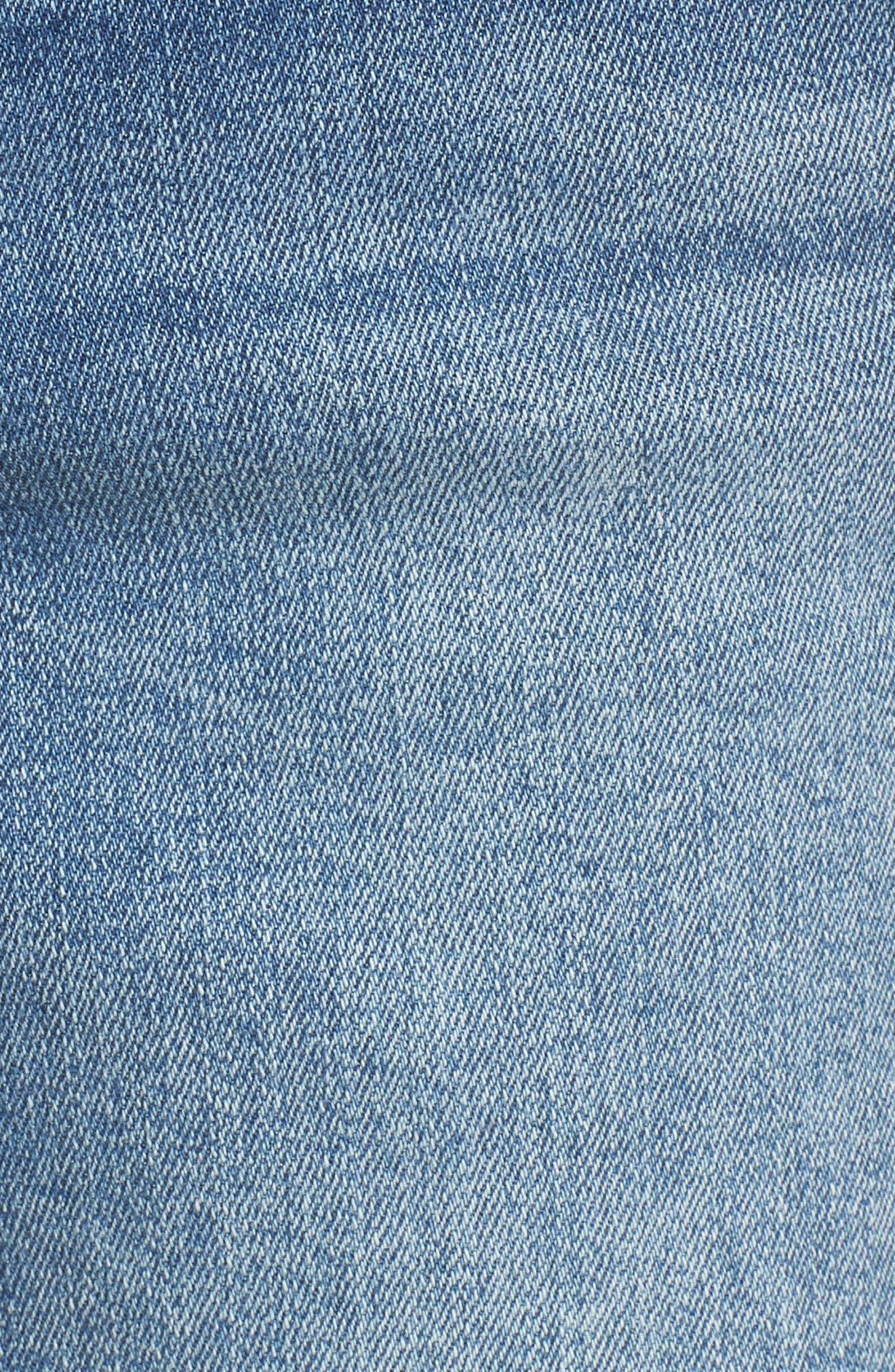 ,                             Ab-solution Denim Shorts,                             Alternate thumbnail 6, color,                             LIGHT BLUE