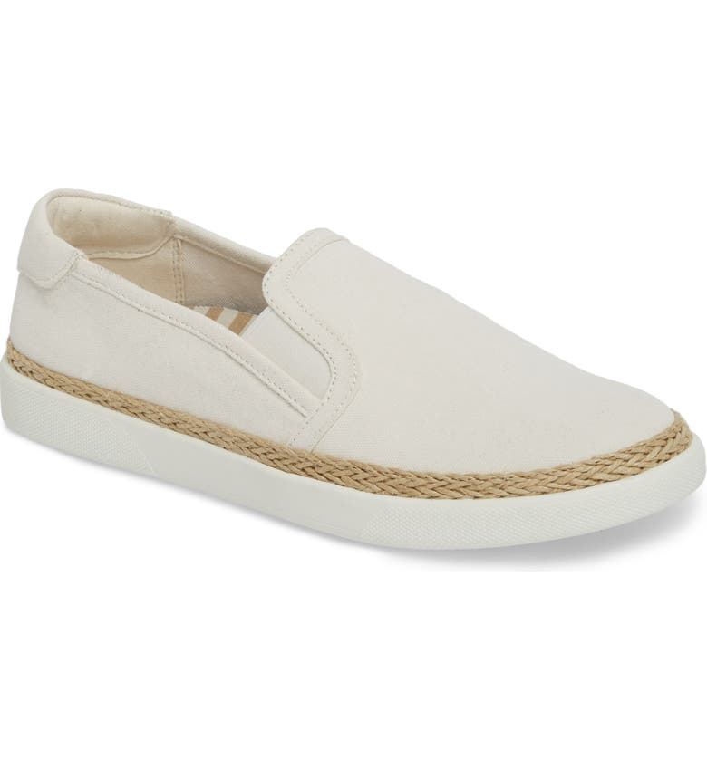 VIONIC Rae Slip-On Sneaker, Main, color, IVORY CANVAS