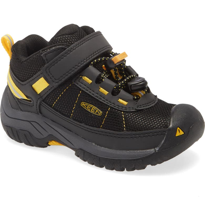 KEEN Targhee Sport Vent Hiking Shoe, Main, color, BLACK/ KEEN YELLOW