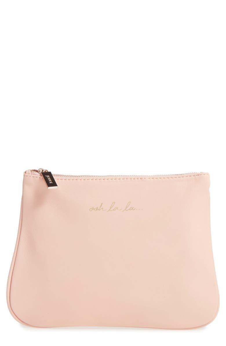 JOUER 'IT' Cosmetics Bag, Main, color, OOH LA LA