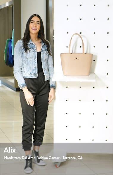 Deannah Leather Shopper & Pouch, sales video thumbnail